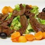 Салат с говядиной — Каприз