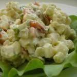 Салат из варенной колбасы — Классика
