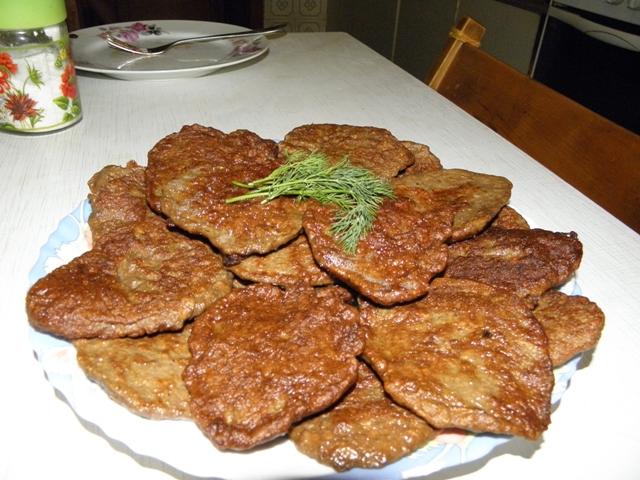 котлеты из печени говяжьей рецепт с фото с морковью