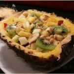 Салат из курицы ананаса и креветок — Княжна