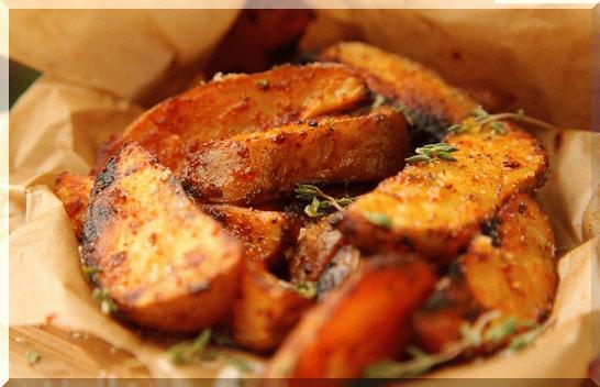 картошка в духовке как картошка по деревенски