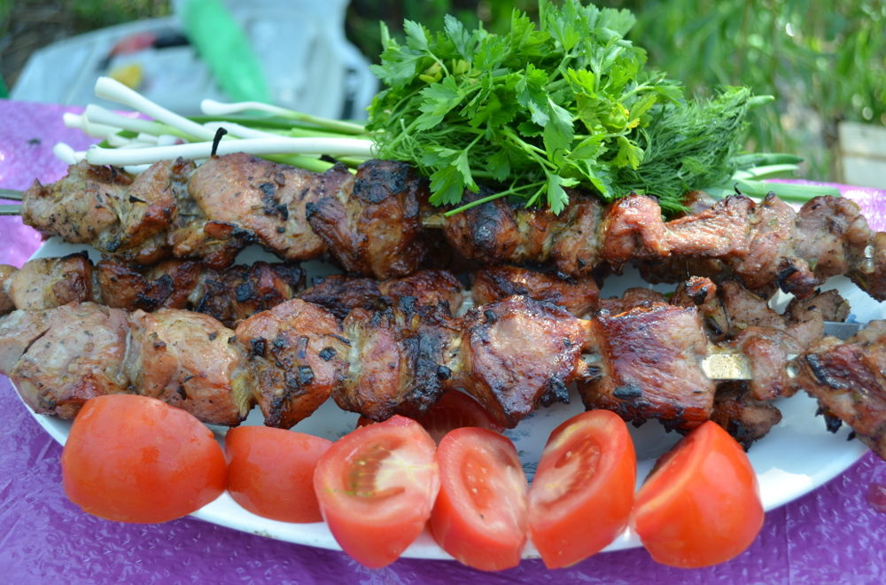 маринад приготовления шашлыка из свинины: