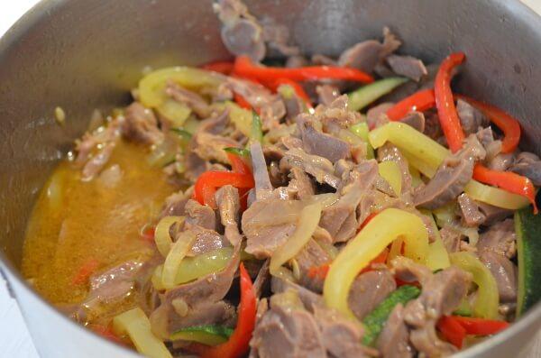 Рецепт приготовления куриных желудков