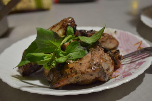 Куриные ножки, запеченные в духовке с картошкой