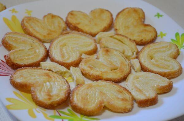Выкладываем слой печенья