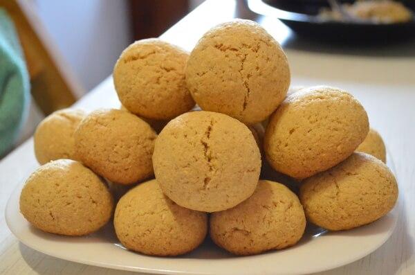 печенье из кокосовой стружки Рецепт с фото