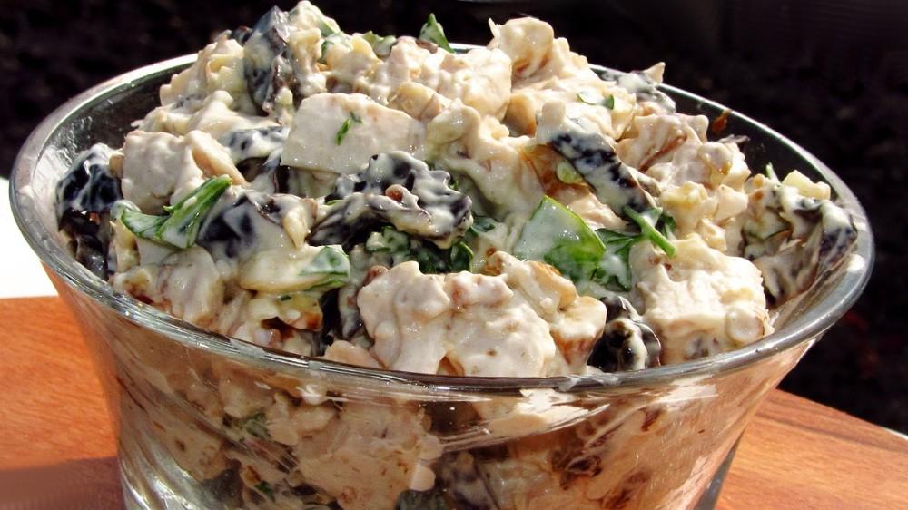 Грузинский салат с говядиной