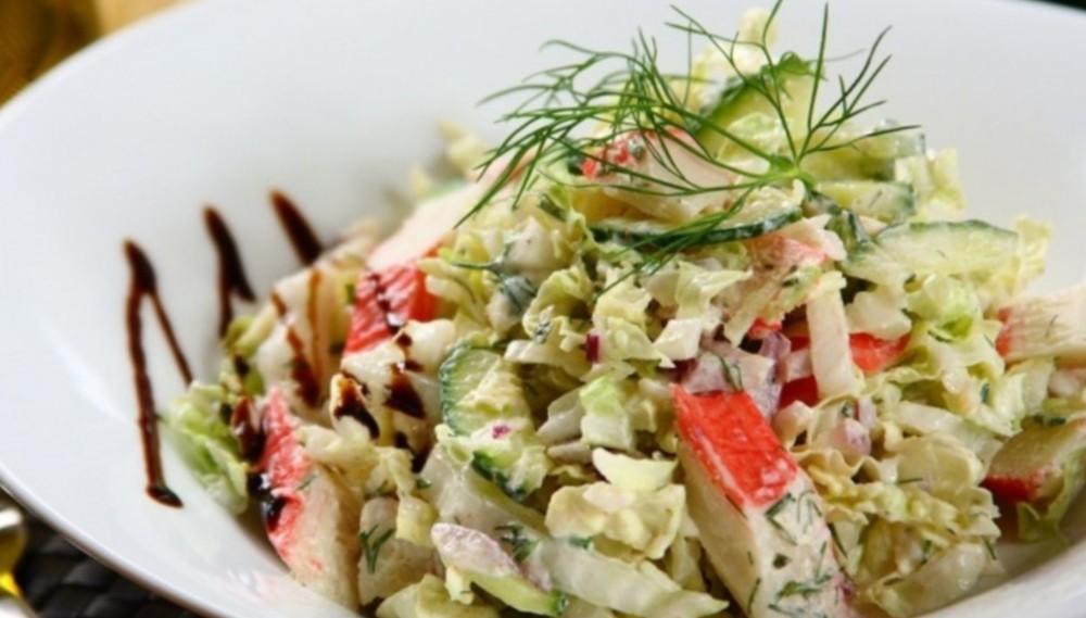 Рецепт салата со свежей капустой