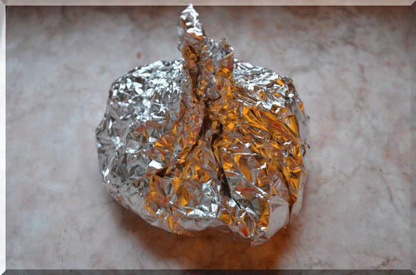 Заворачиваем фольгу конфеткой