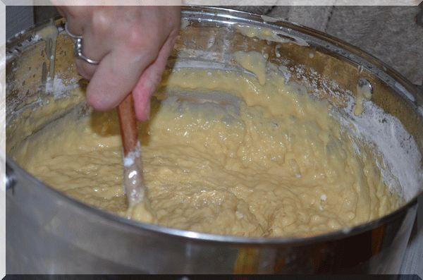 Тесто для пасхи почти готово