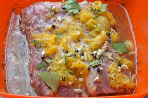 апельсиновый соус к мясу