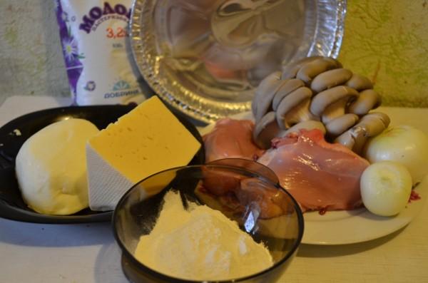 Жульен рецепт классический с курицей и грибами