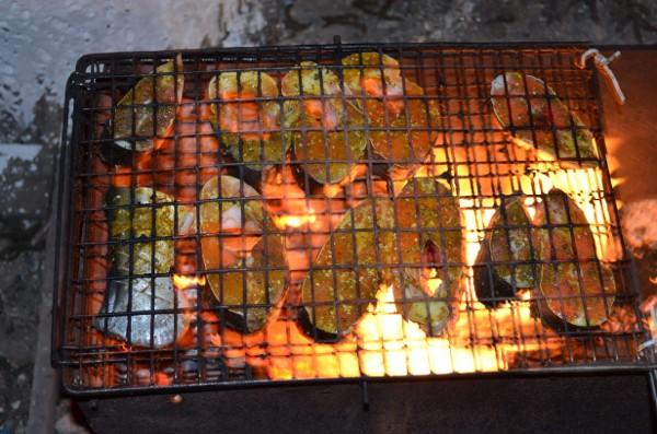 Рыба на мангале рецепты с фото