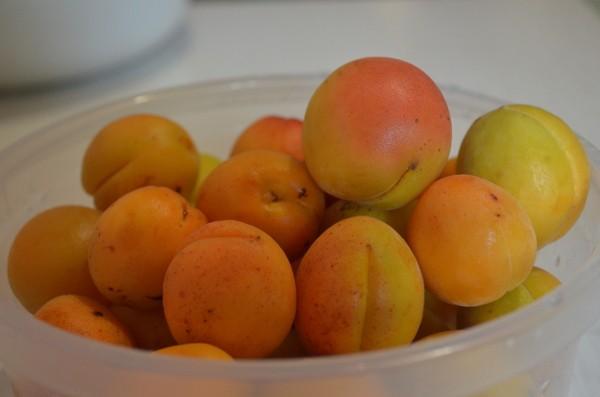 Подготовим абрикосы