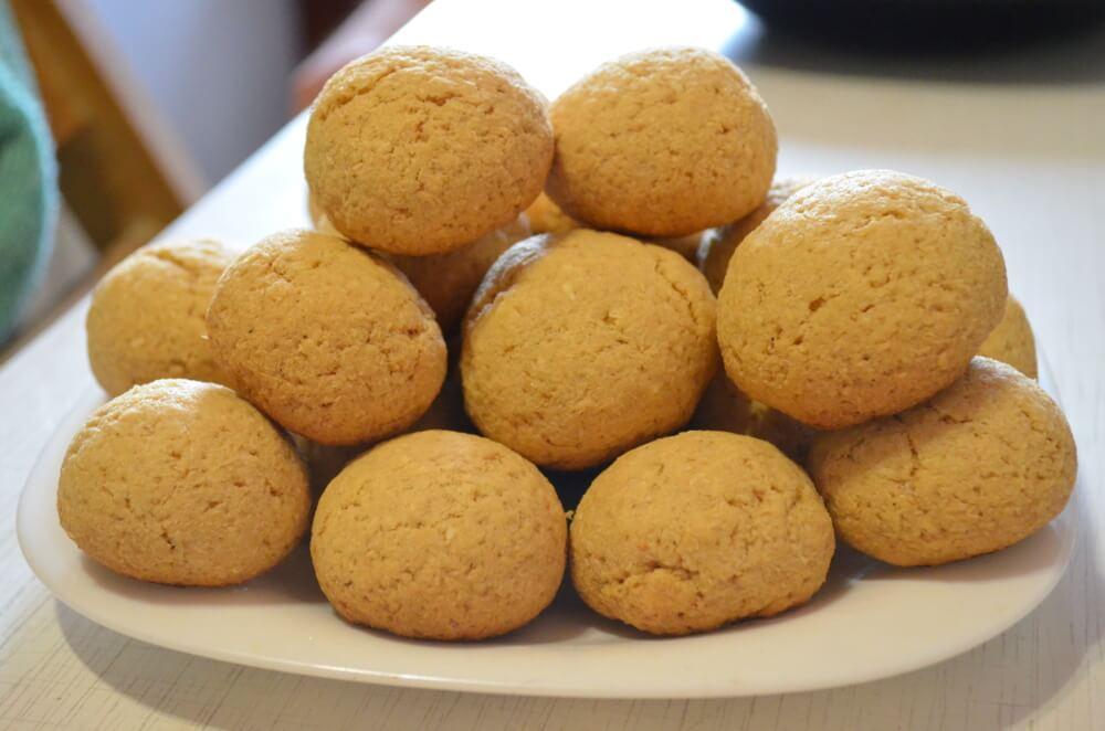 печенье из кокосовой стружки. Рецепт с фото